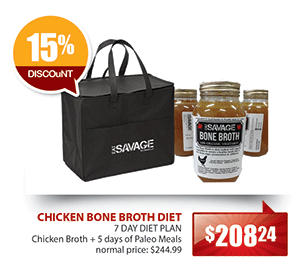 Eat Savage Chicken Bone Broth Diet