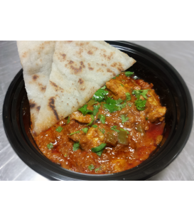 Butter Chicken w/ Paleo Naan (Organic Chicken)