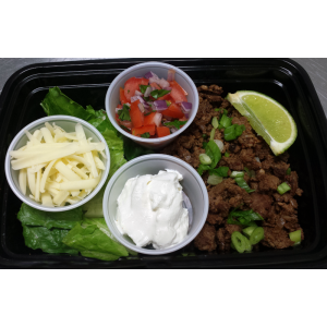 Taco Salad with Grass Fed Beef