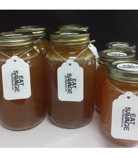 500ml Bone Broth - Organic Chicken Bones & Organic Veggies