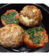 Scotch Eggs with Grilled Garlic Tomato