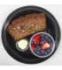 Banana Bread with Fruit Cup