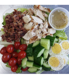 Paleo Cobb Salad with Grilled Chicken