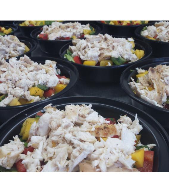 Mahi Mahi Mango Salad Bowl - Paleo