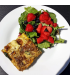 Butternut Squash Frittata with mixed greens & fruit cup