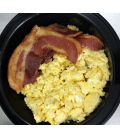 Scrambled Eggs w/ Bacon only