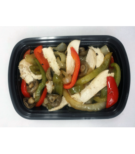 Chicken w/ peppers mushrooms & onions