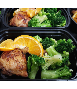 Organic Citrus Chicken w/ Broccoli