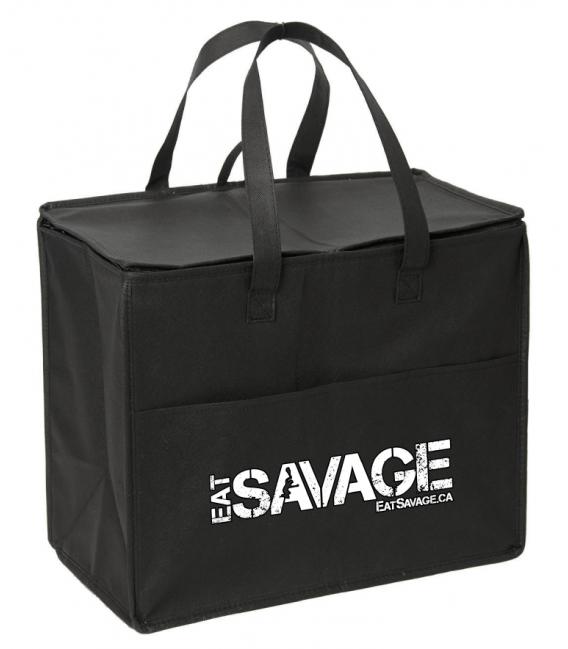 Eat Savage Cooler Bag