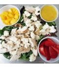 Strawberry Mango Grilled Chicken Salad