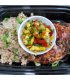 Jerk Chicken w/ Island Cauliflower Rice & Mango Pineapple Salsa (Organic Chicken)