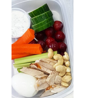Chicken Protein Veggie Box