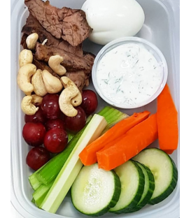 Steak Protein Veggie Box