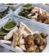 Chicken Chimichurri w/ garlic mushrooms & green beans