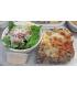 Chicken Zucchini Lasagna with Caesar Salad