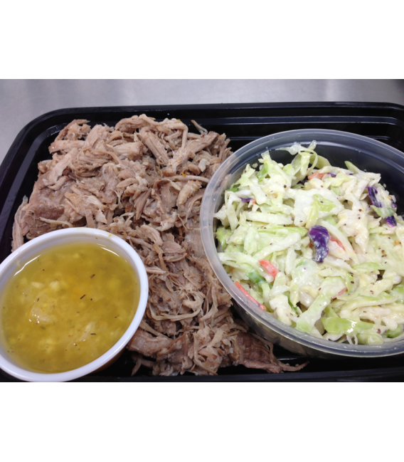 Pulled Pork (Mojo) with Vinaigrette Coleslaw