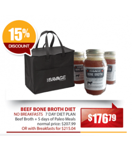 Beef Bone Broth Diet Plan - No Breakfasts