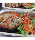 Bone Broth Diet Meal of the Week - Stuffed Acorn Squash