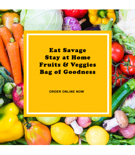 Bag of Goodness - Veggie & Fruit Box