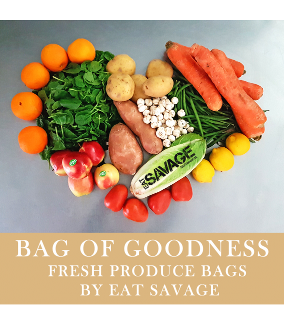 Bag of Goodness - Veggie & Fruit Bag - included produce changes weekly