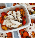 Grilled Chicken w/ Roasted Veggies