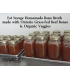 500ml Bone Broth - Grass Fed Beef Bones & Organic Veggies