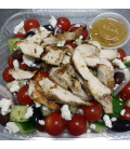 Greek Village Salad with Grilled Chicken