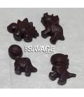 Coconut Oil Chocolate Dinosaurs