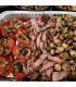 Family Sized - Chili Lime Steak w/ garlic mushrooms & grilled tomato