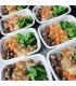 Roasted Organic Chicken Leg w/Mushrooms & Broccoli