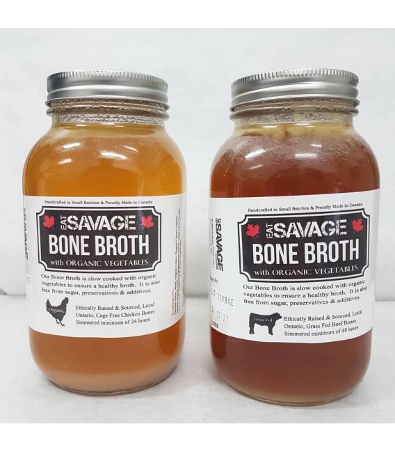 1 litre Bone Broth