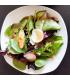 side salad - varies each week