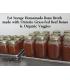 1 litre Bone Broth - Grass Fed Beef Bones & Organic Veggies